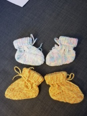 Noch paar Babysocken für die Zwillinge